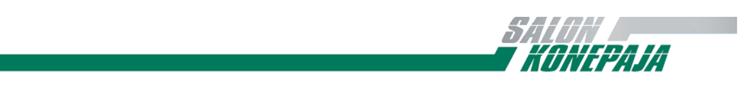 Logo, salon konepaja, 2